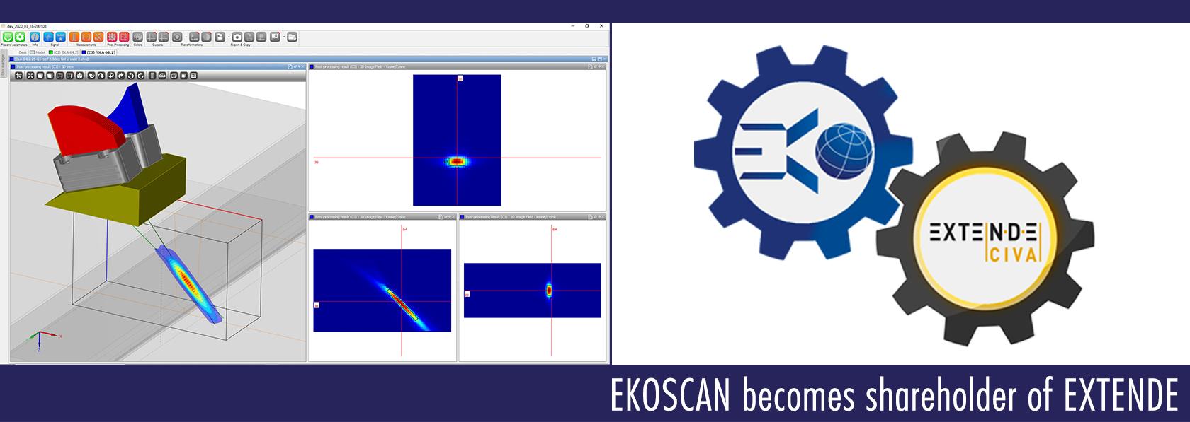 Ekoscan devient actionnaire d'Extende